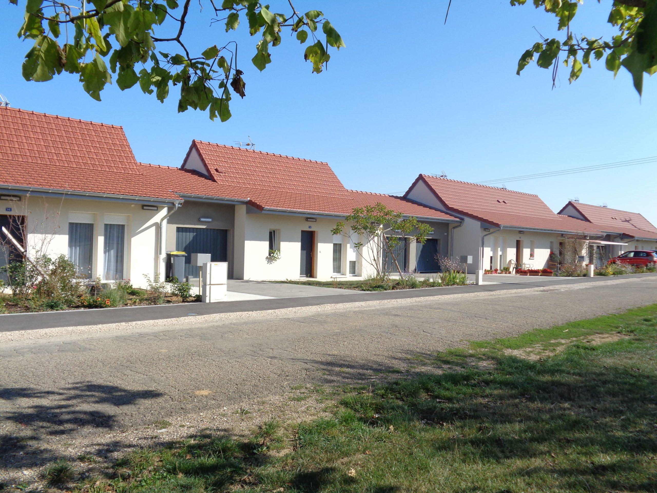 Une résidence senior T3 à louer à Chaussin